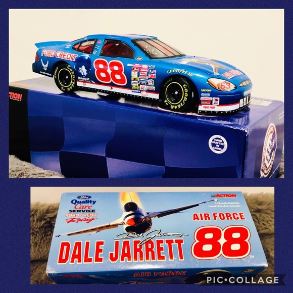 NASCAR DALE JARRETT # 88 Air Force